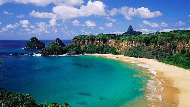 Baia do Sancho, Fernando de Noronha, Brazil. Voted Best Beach in the World by TripAdvisor