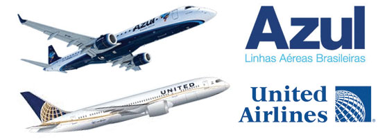 United Continental Takes 5% Stake in Brazilian Airline Azul for $100 Million