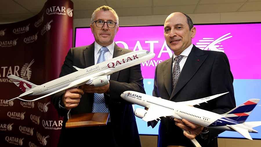 latam, flight, flying, between, doha, qatar, são Paulo, sao paulo, business