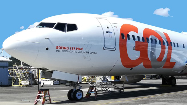 Boeing, 737, MAX 8, airplane, gol, airline