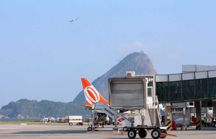 gol, airlines, airplanes, flights, operation, santos dumont, airport