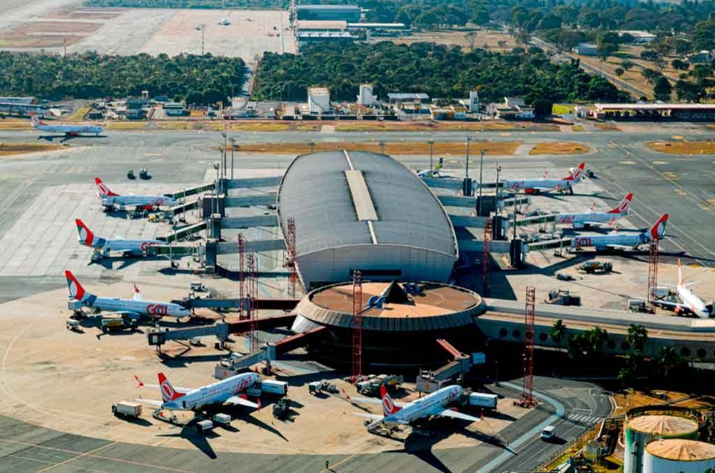 brasília, hub, gol, airlines, airports